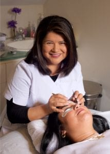 Maura Pesantz, Skin care and Eyelash Extension Specialist